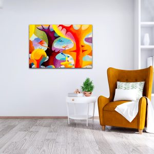 Kartina-Abstract-color_Orange_Bomb_LivingRoom