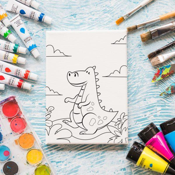 dinozavar-za-ocvetyavane