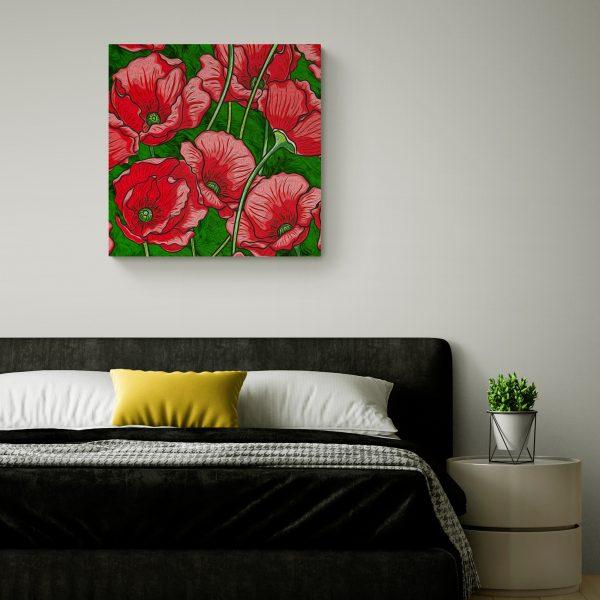 Букет от хризантеми - Реноар