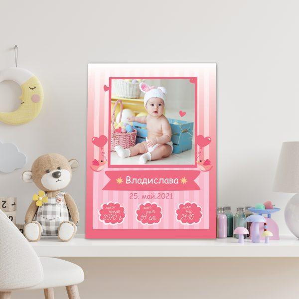 бебешка визитка