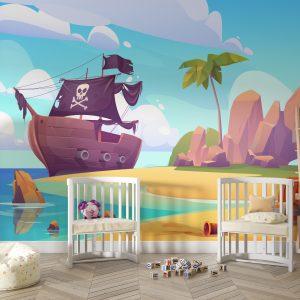 piratski-fototapet-detska-staya