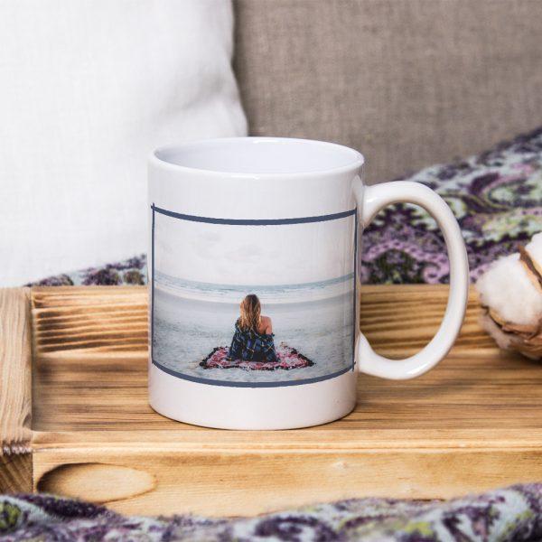 Чаша със снимка - Летен спомен