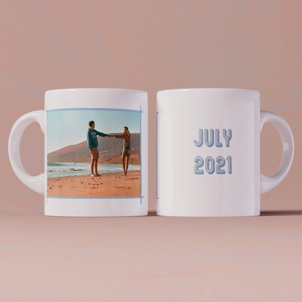 чаша със снимка за лято 2021