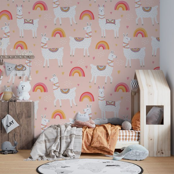 Детски фототапет - Llama Special