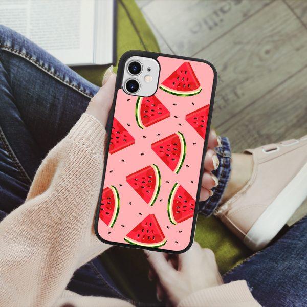 Калъф за телефон за момиче с дизайн с дини