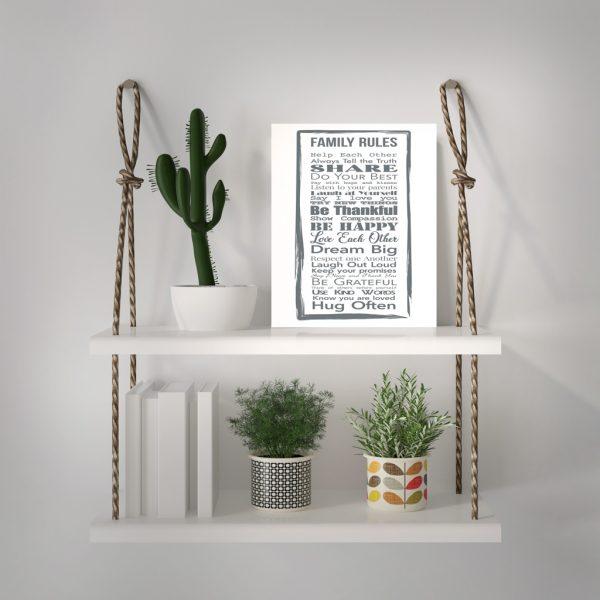 PVC постер - Family Rules